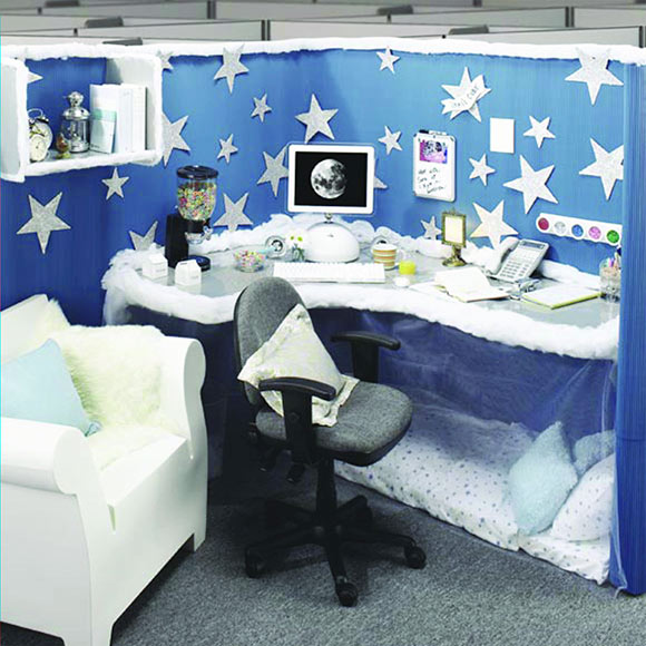 Cubicle Décor Ideas To Make Your Home Office Pop: Bell'Dora Fashions