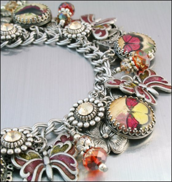 """Wine Lovers Charm Bracelet."""