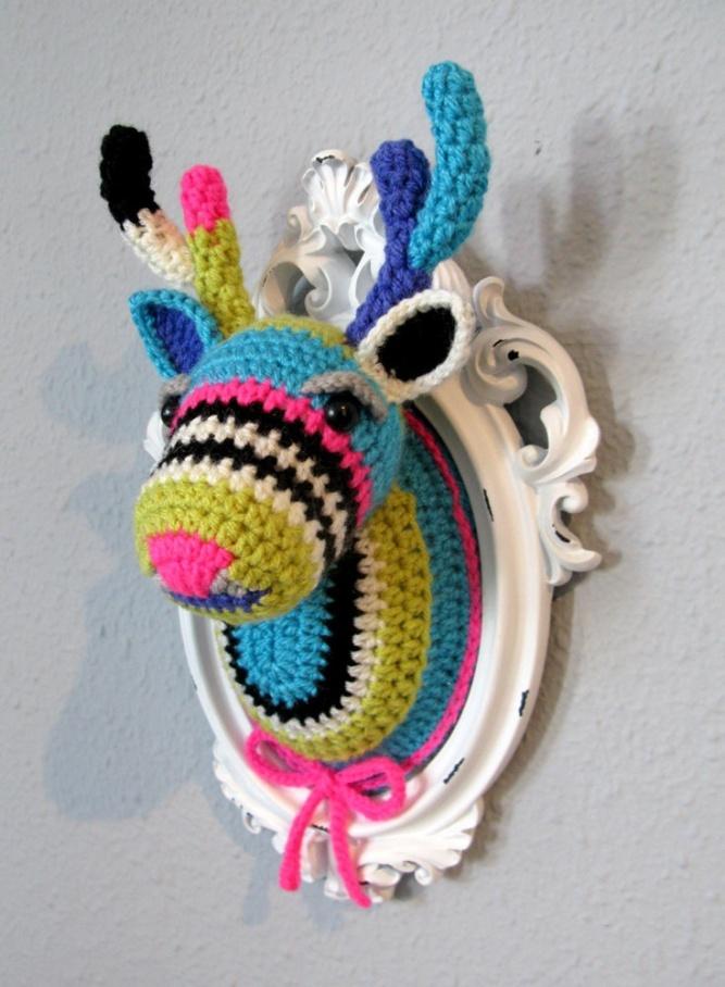 Crocheted Deer
